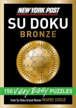 New York Post Bronze Sudoku