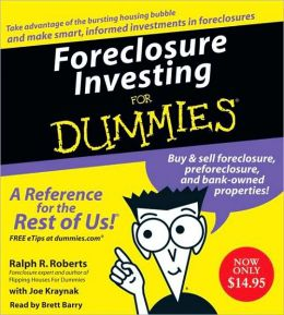 Foreclosure Investing For Dummies CD: Foreclosure Investing For Dummies CD