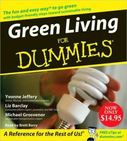 Green Living for Dummies (Audio CD)