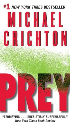 prey by michael crichton nook book ebook paperback
