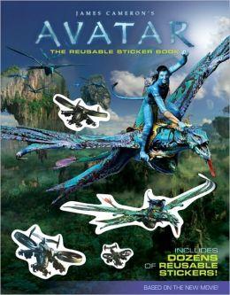 James Cameron's Avatar: The Reusable Sticker Book (James Cameron's Avatar Series)