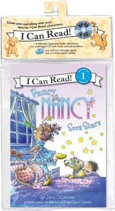 Fancy Nancy Sees Stars (Book and CD)
