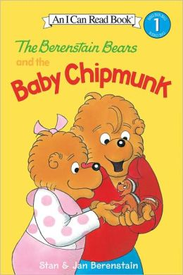 The Berenstain Bears and the Baby Chipmunk (I Can Read Book 1 Series)