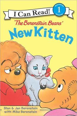The Berenstain Bears' New Kitten (I Can Read Book 1 Series)