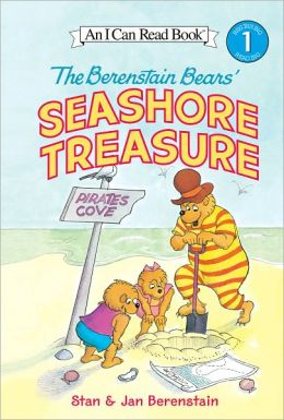 The Berenstain Bears' Seashore Treasure (I Can Read Book 1 Series)