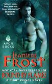 Book Cover Image. Title: Bound by Flames:  A Night Prince Novel, Author: Jeaniene Frost