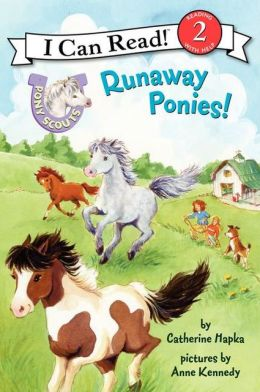 Runaway Ponies! (Pony Scouts: I Can Read Book 2 Series)