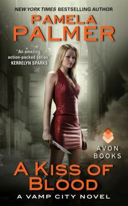 A Kiss of Blood (Vamp City Series #2)