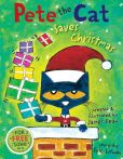 Book Cover Image. Title: Pete the Cat Saves Christmas, Author: James Dean