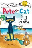 Book Cover Image. Title: Pete the Cat:  Pete at the Beach, Author: James Dean
