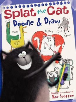 Splat the Cat: Doodle & Draw: A Coloring & Activity Book