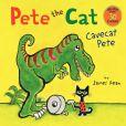 Book Cover Image. Title: Pete the Cat:  Cavecat Pete, Author: James Dean