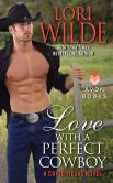 Book Cover Image. Title: Love With a Perfect Cowboy:  A Cupid, Texas Novel, Author: Lori Wilde