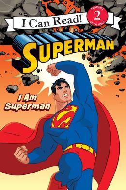 I Am Superman (I Can Read Book 2 Series)
