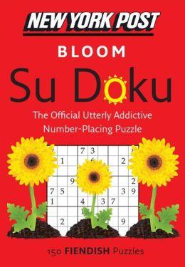 New York Post Bloom Su Doku (Fiendish)