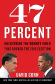 Book Cover Image. Title: 47 Percent:  Uncovering the Romney Video That Rocked the 2012 Election, Author: David Corn