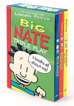 Big Nate Triple Play Box Set: Big Nate: In a Class by Himself, Big Nate Strikes Again, Big Nate on a Roll