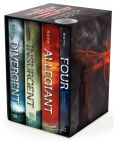 Book Cover Image. Title: Divergent Series Ultimate Four-Book Box Set:  Divergent, Insurgent, Allegiant, Four, Author: Veronica Roth