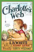 Book Cover Image. Title: Charlotte's Web, Author: E. B. White
