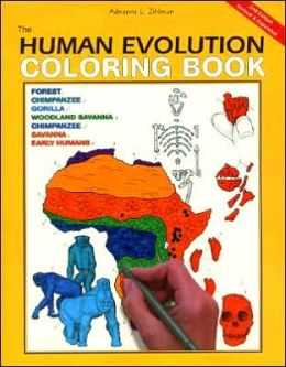 Human Evolution Coloring Book, 2e