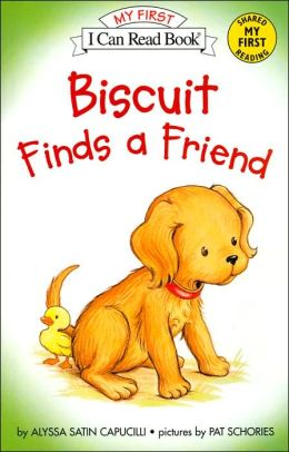 Biscuit Finds a Friend (My First I Can Read Series)
