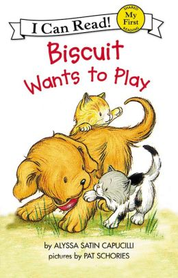 Biscuit Wants to Play (My First I Can Read Series)