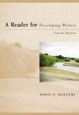 A Reader for Developing Writers