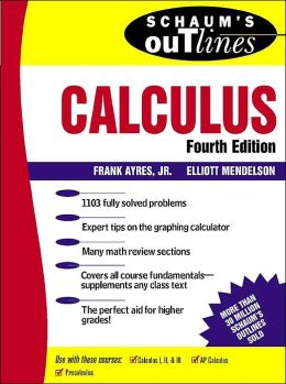 Schaum's Outline of Calculus