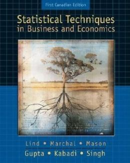 Statistical Techniques / With CD (Canadian)
