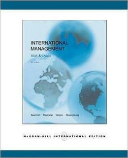 International Management : Text and Cases (International Edition)