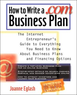 How To Write A .Com Business Plan