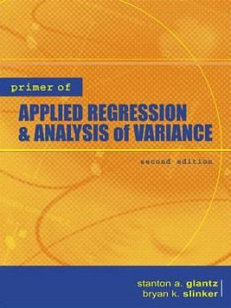 Primer of Applied Regression & Analysis of Variance