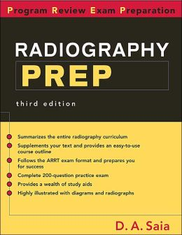 Radiography PREP: Program Review Exam Preparation