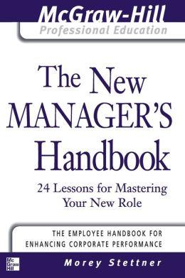 New Manager's Handbook