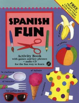 Spanish Fun Activity Book and CD Pack