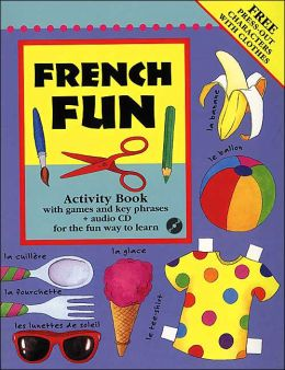 French Fun Book & CD Pack
