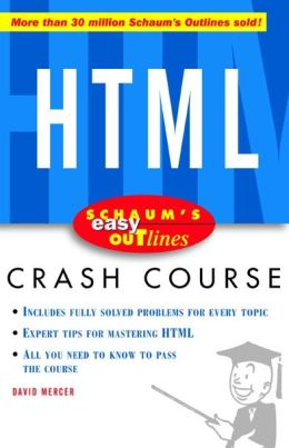 Schaum's Easy Outline of HTML