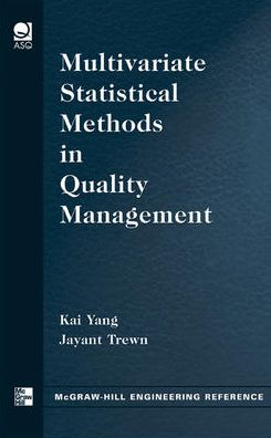 Multivariate Statistical Methods in Quality Management