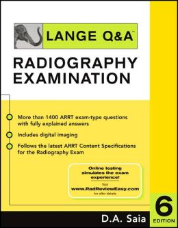 Lange Q&A for the Radiography Examination