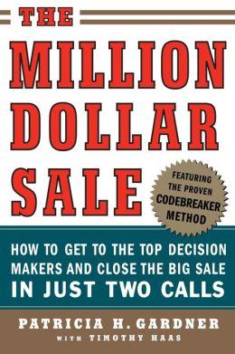 The Million Dollar Sale