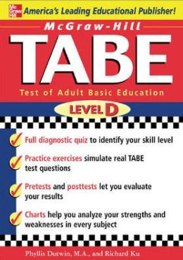 McGraw-Hill's TABE Level D: Test of Adult Basic Education - The First Step to Lifelong Success