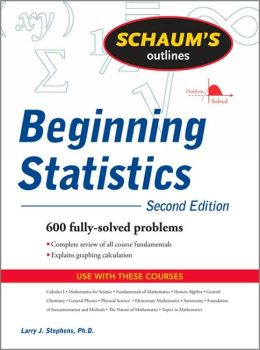 Schaum's Outline of Beginning Statistics