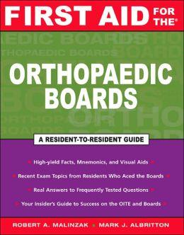 Orthopaedic Boards