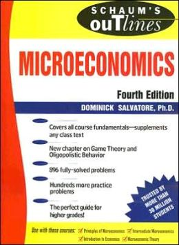 Schaum's Outlines Microeconomics