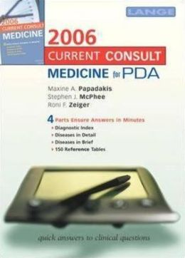 Current Consult: Medicine 2006 for PDA