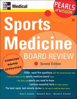 Sports Medicine Board Review