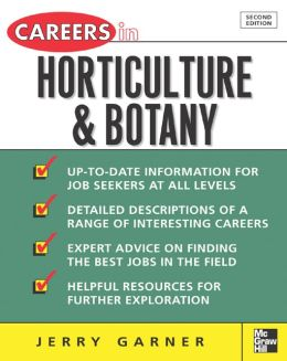 Careers In Horticulture And Botany