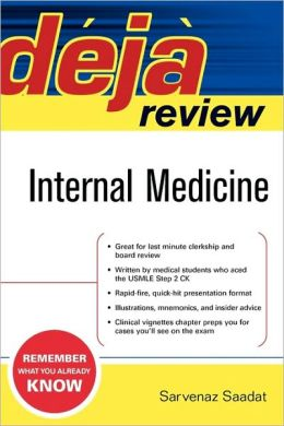 Deja Review Internal Medicine