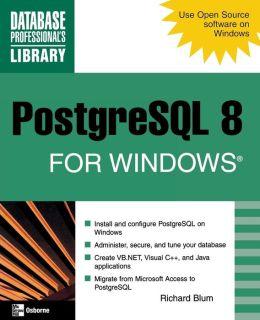 PostgreSQL 8 for Windows