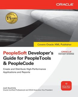 PeopleSoft Developer's Guide for PeopleTools & PeopleCode